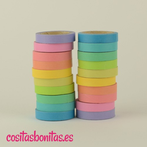 Washi Tape l Pack arcoiris