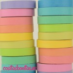 Washi Tape - pack Arcoiris_2